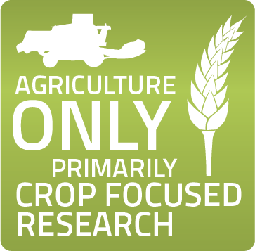 Agriculture Only - Primarily Crop Focused Research